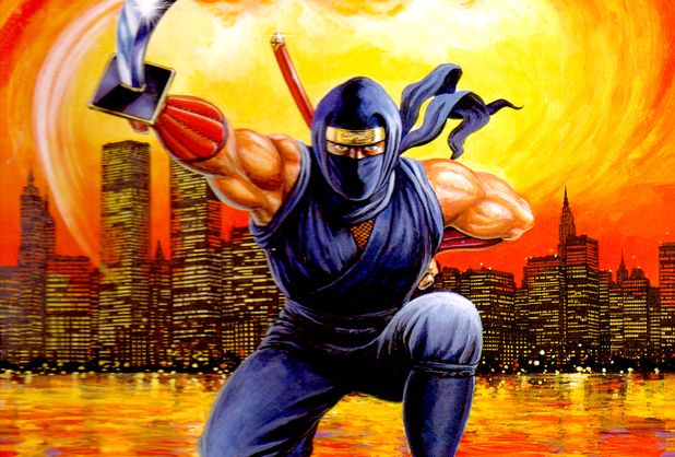 Ninja Gaiden 3: The Ancient Ship of Doom box art (NES)