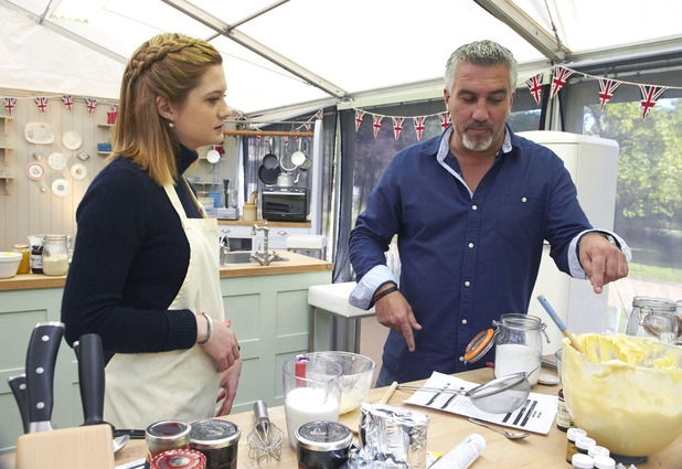 Bonnie Wright and Paul Hollywood