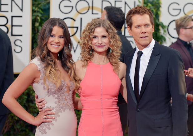 Sosie Bacon, Kyra Sedgwick and Kevin Bacon