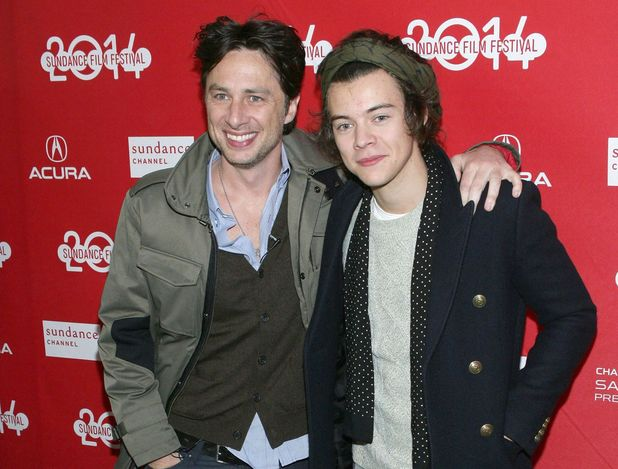 Zach Braff and Harry Styles 'Wish I was Here' film premiere, Sundance Film Festival 2014, Park City,