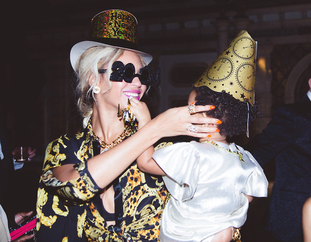 Beyoncé spends New Year's Eve with Blue Ivy