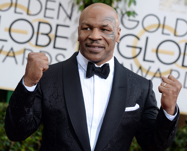 71st annual Golden Globe Awards: Mike Tyson