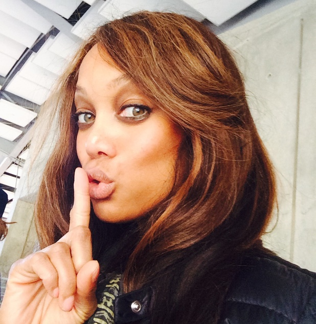Tyra Banks for Special K's Fight Fat Talk campaign