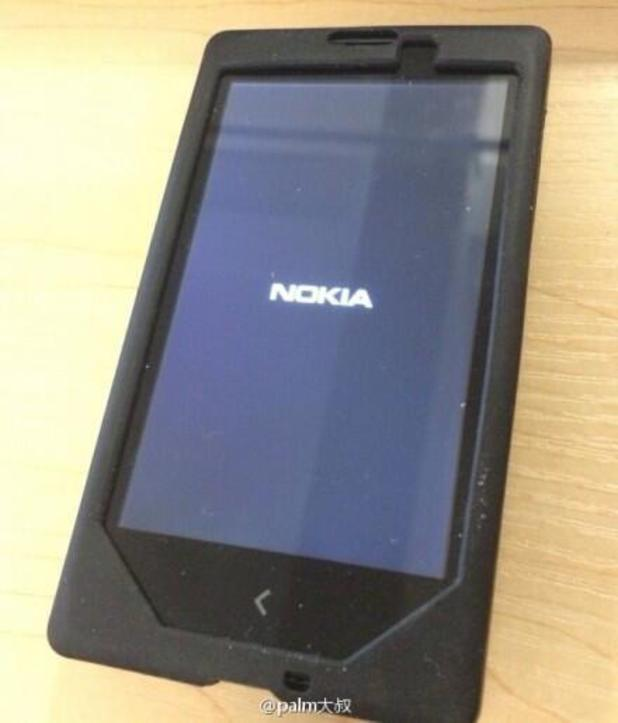 Leaked image of Nokia's Android-powered Normandy phone