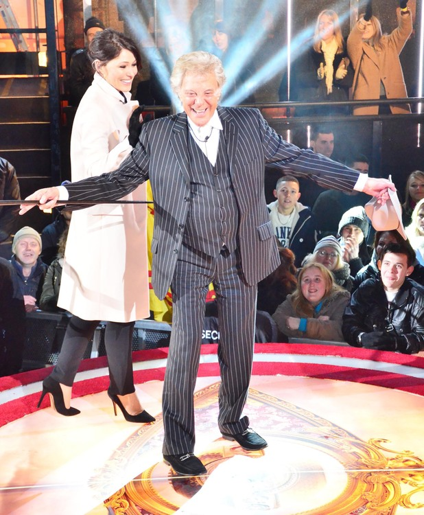 Lionel Blair is evicted from the Celebrity Big Brother house