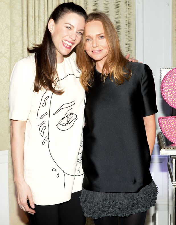 Stella McCartney Autumn 2014 Presentation, New York, America - 13 Jan 2014Liv Tyler, Stella McCartney13 Jan 2014