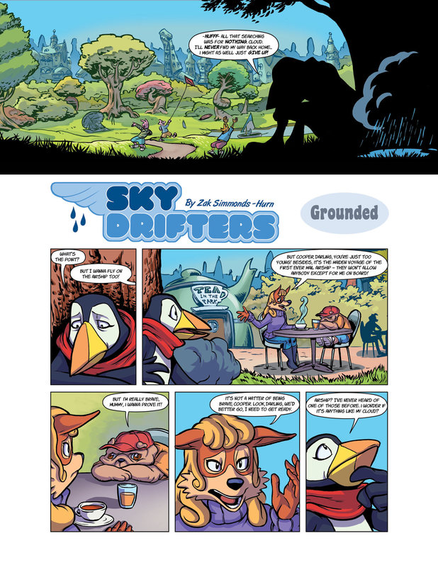 Sky Drifters preview page 1