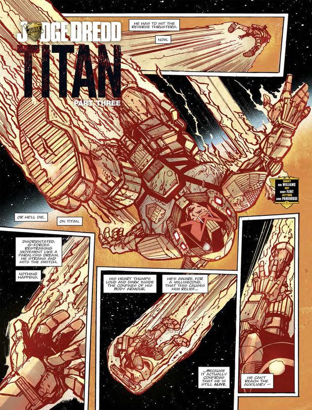 Judge Dredd 'Titan'