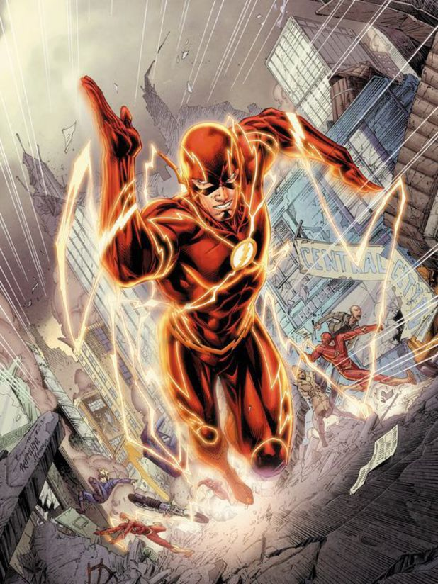 Brett Booth's Flash