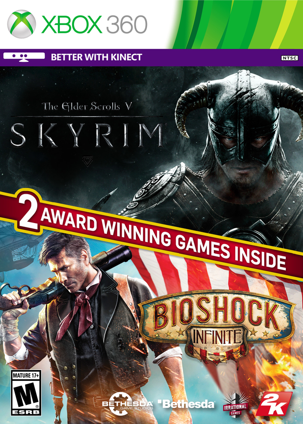 Skyrim with BioShock Infinite bundle
