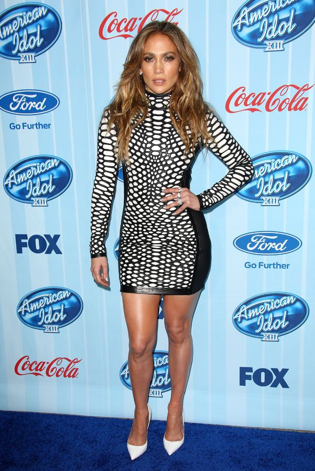 American Idol XIII Kick Off, Los Angeles, America - 14 Jan 2014 Jennifer Lopez