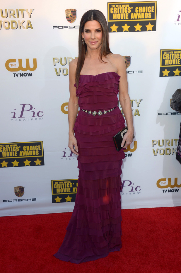 19th Annual Critics' Choice Movie Awards, Arrivals, Los Angeles, America - 16 Jan 2014Sandra Bullock 16 Jan 2014