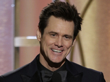 Jim Carrey speaks onstage at the Golden Globe Awards 2014