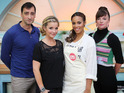 Alistair McGowan, Doon Mackichan, Helen Skelton and Rochelle Humes took part.