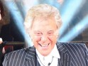 The 82-year-old entertainer says he's backing Ollie Locke to win the show.