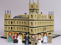 Downton Abbey characters - and the Abbey itself - are constructed by a fan.