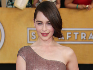 20th Annual Screen Actors Guild Awards, Arrivals, Los Angeles, America - 18 Jan 2014 Emilia Clarke