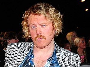 Keith Lemon arriving for the 2014 National Television Awards at the O2 Arena, London