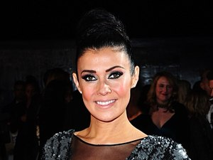 Kym Marsh arriving for the 2014 National Television Awards at the O2 Arena, London