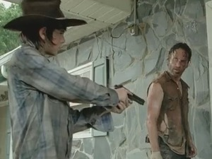 The Walking Dead: Behind-the-scenes clip
