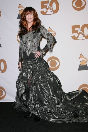 50th Annual Grammy Awards, pressroom at the Staples Center, Los Angeles, America - 10 Feb 2008 Cher