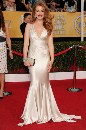 20th Annual Screen Actors Guild Awards, Arrivals, Los Angeles, America - 18 Jan 2014 Isla Fisher