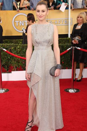 20th Annual Screen Actors Guild Awards, Arrivals, Los Angeles, America - 18 Jan 2014 Laura Carmichael