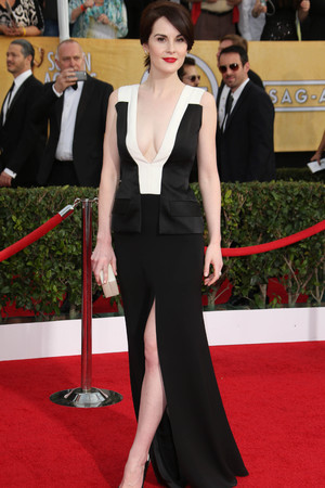 20th Annual Screen Actors Guild Awards, Arrivals, Los Angeles, America - 18 Jan 2014 Michelle Dockery