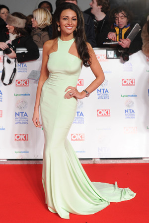 National Television Awards, The O2, London, Britain - 22 Jan 2014 Michelle Keegan