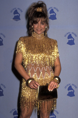 LOS ANGELES - FEBRUARY 21: Singer Paula Abdul attends the 32nd Annual Grammy Awards on February 21, 1990 at the Shrine Auditorium in Los Angeles, California. (Photo by Ron Galella, Ltd./WireImage)