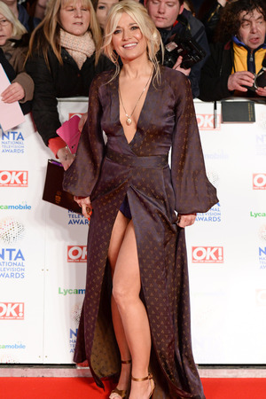National Television Awards, The O2, London, Britain - 22 Jan 2014 Rachel Wilde