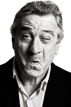 Robert De Niro poses for BAFTA Behind the Mask