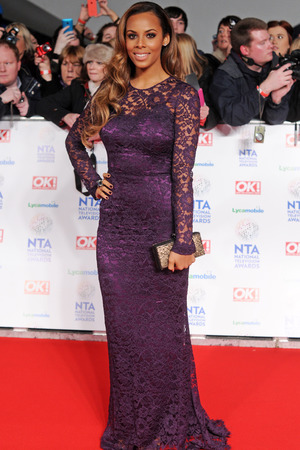 National Television Awards, The O2, London, Britain - 22 Jan 2014 Rochelle Humes