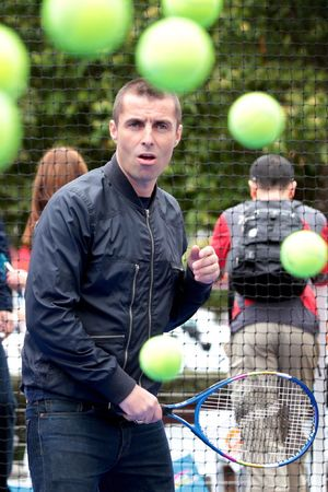 Liam Gallagher visits the Australian Open