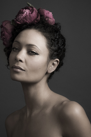Thandie Newton poses for BAFTA Behind the Mark