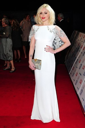Fearne Cotton arriving for the 2014 National Television Awards at the O2 Arena, London