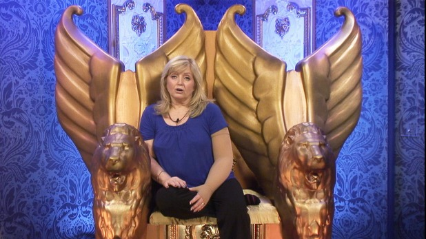 Linda Nolan in the Diary Room