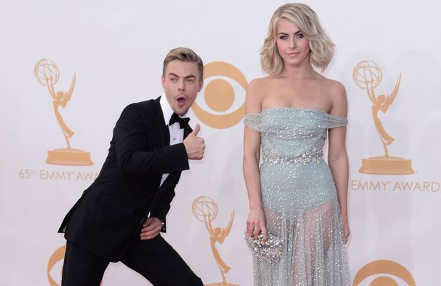 The 65th Annual Primetime Emmy Awards, Arrivals, Los Angeles, America - 22 Sep 2013 Derek Hough and Julianne Hough 22 Sep 2013