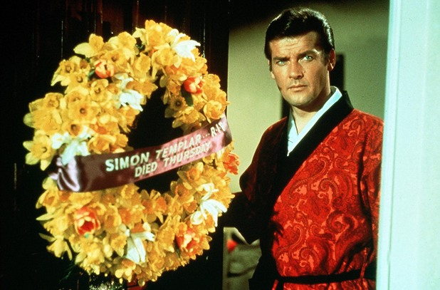 Roger Moore in The Saint - The Time to Die 1968