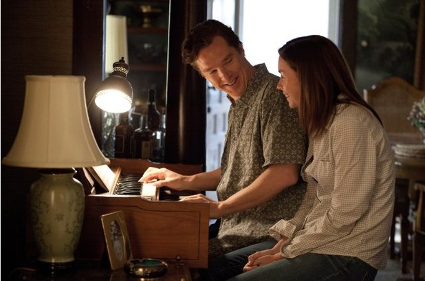 Julianne Nicholson and Benedict Cumberbatch in August: Osage County