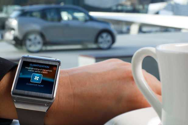 BMW i3 and Galaxy Gear