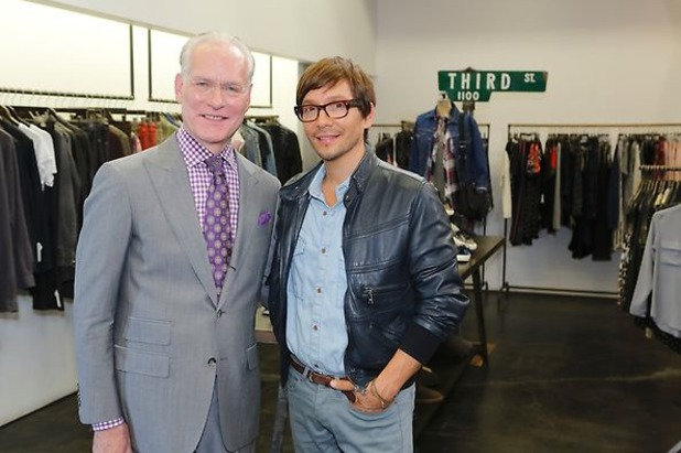Tim Gunn and Ken Paves during episode 13 of The Biggest Loser