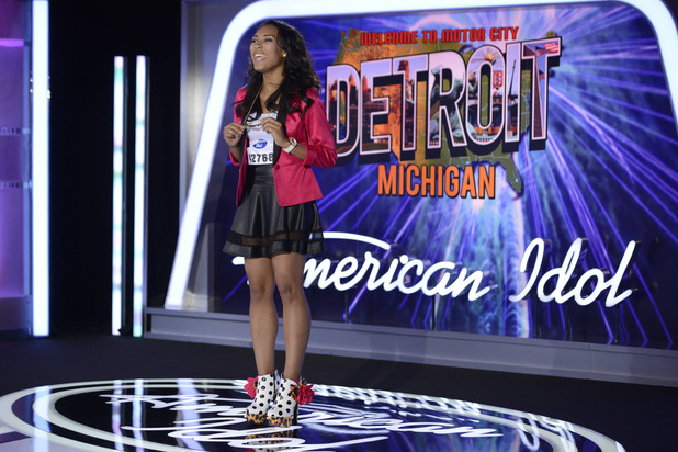 AMERICAN IDOL XIII: Detroit Auditions - Contestant Khristian D'Avis