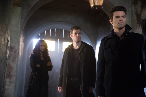 Shannon Kane as Sabine, Joseph Morgan as Klaus and Daniel Gillies as Elijah in The Originals: 'Apres Moi, Le Deluge'