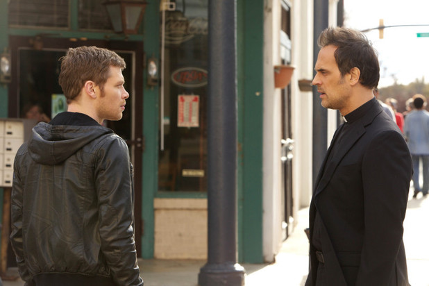 Joseph Morgan as Klaus and Todd Stashwick as Kieran in The Originals: 'Apres Moi, Le Deluge'