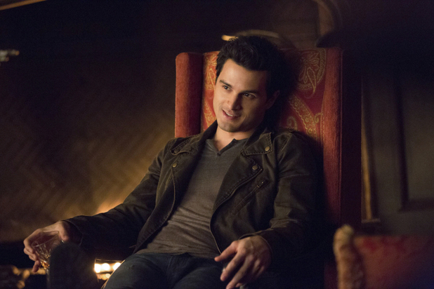 Michael Malarkey as Enzo in The Vampire Diaries: 'The Devil Inside'