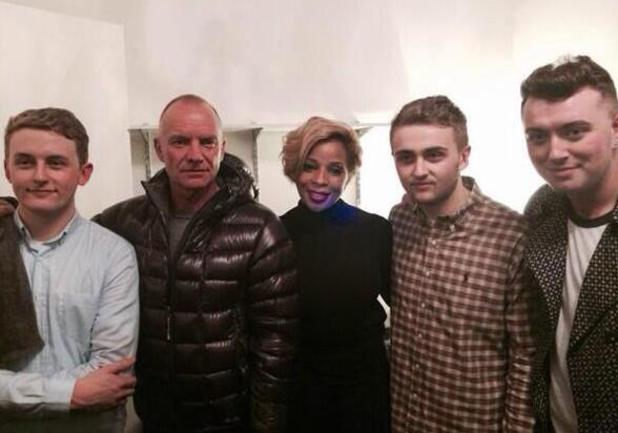 Disclosure, Sting, Mary J Blige, Sam Smith at New York gig