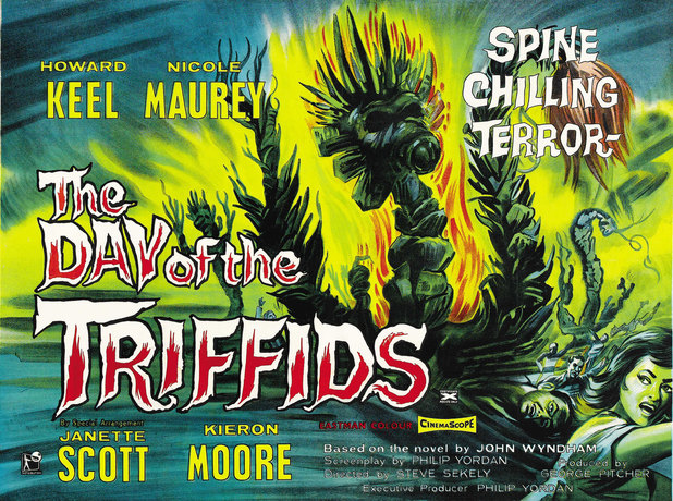 Day of the Triffids 1962 poster
