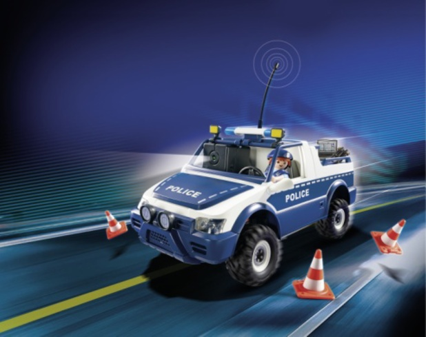 Playmobil RC camera car