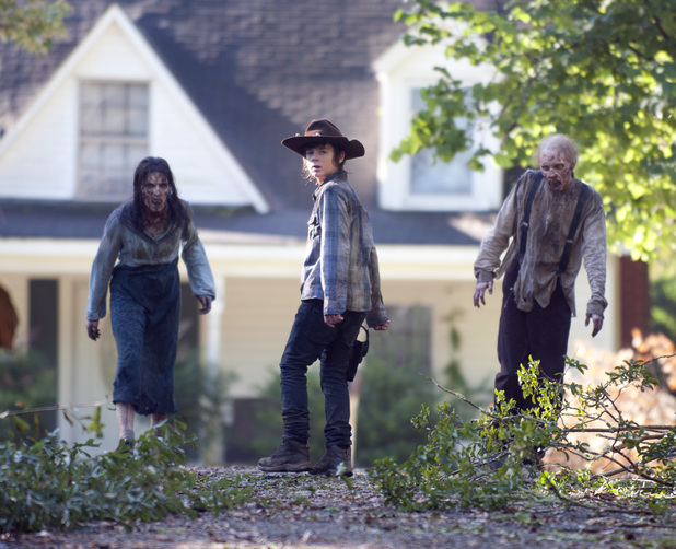 'The Walking Dead' season 4b exclusive image.